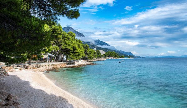 spiagge sulla Riviera di Makarska