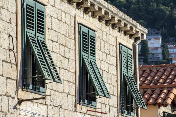 facciate a Dubrovnik